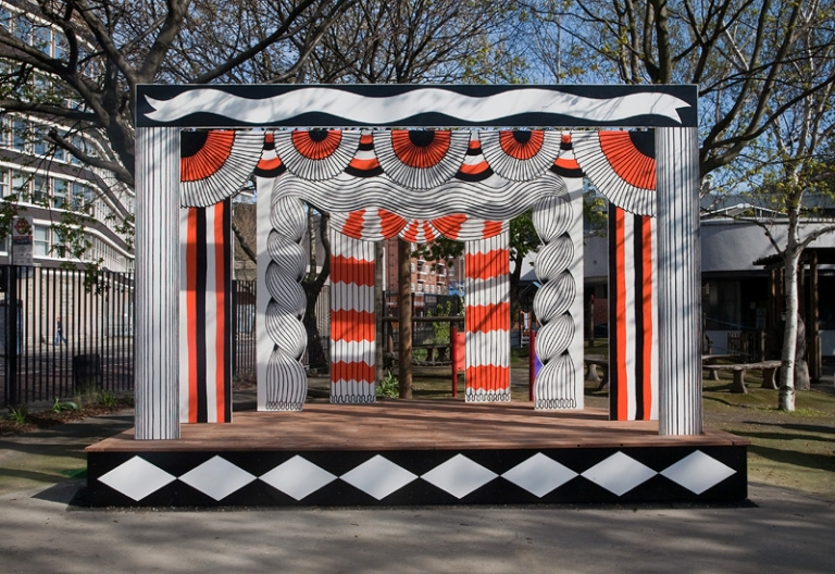 Molly Kyhl blackfriars playground