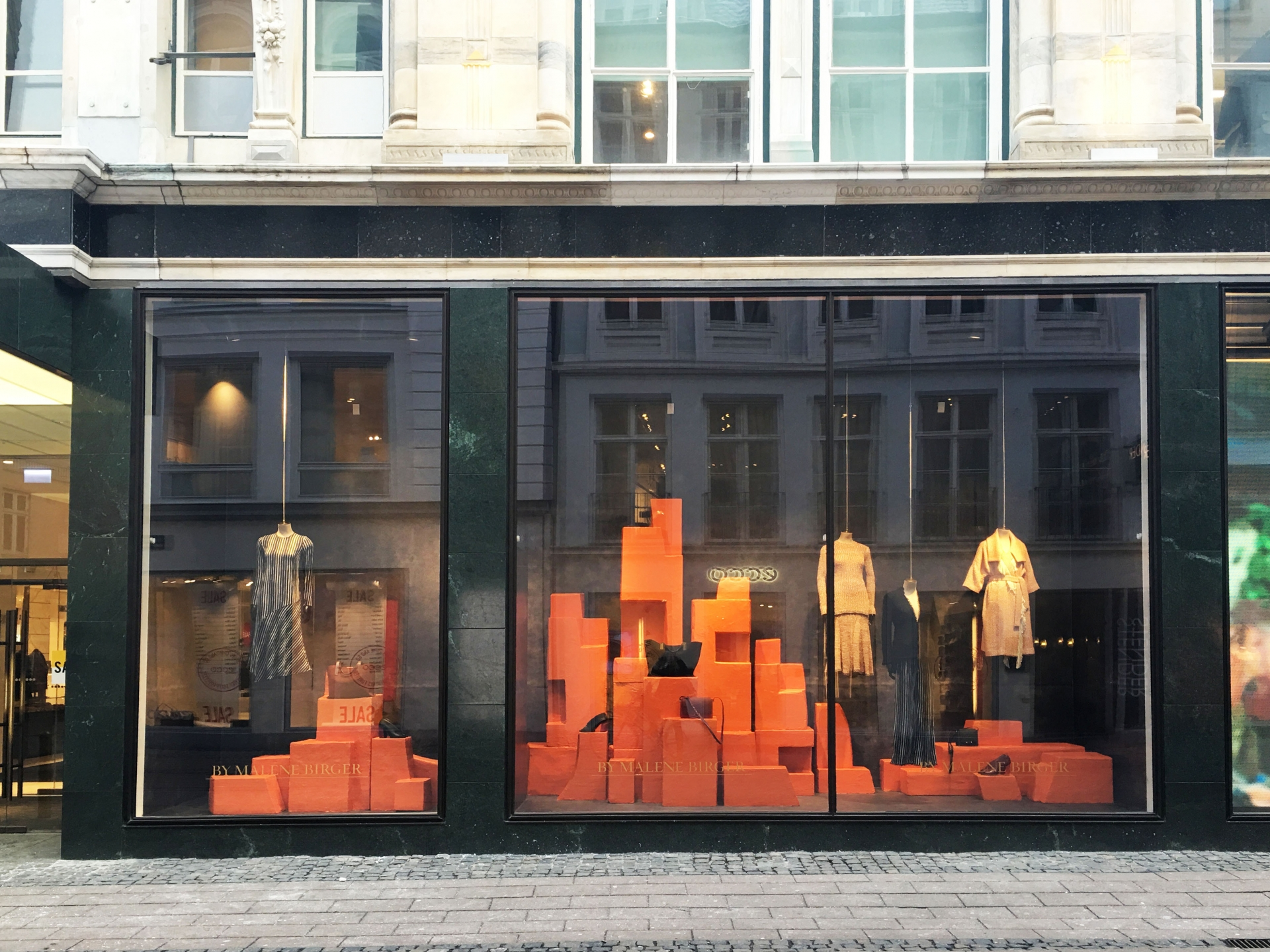 Molly Kyhl by malene birger window