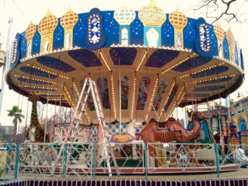 Molly Kyhl tivoli carousel