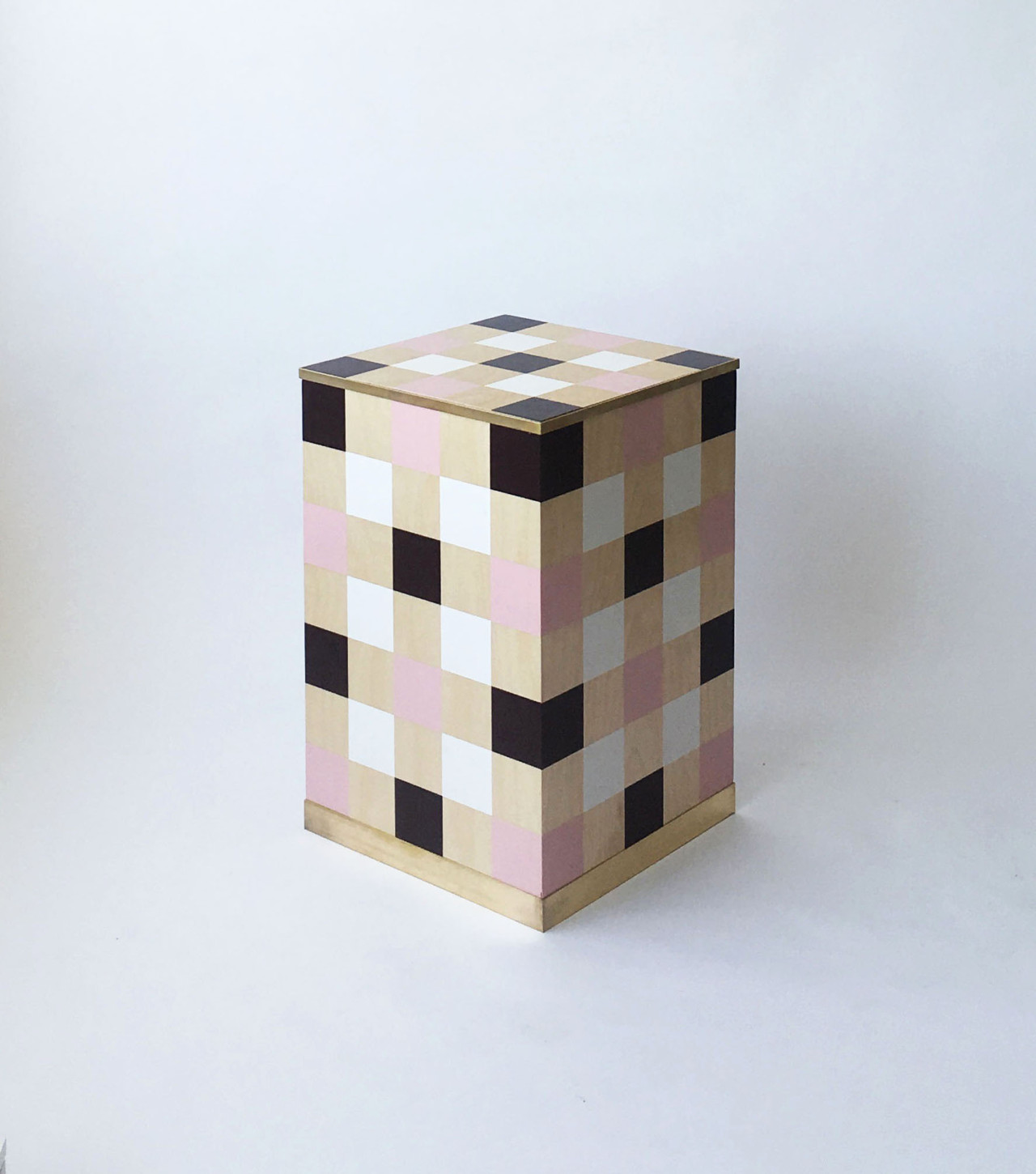 Molly Kyhl cabinet box/stools